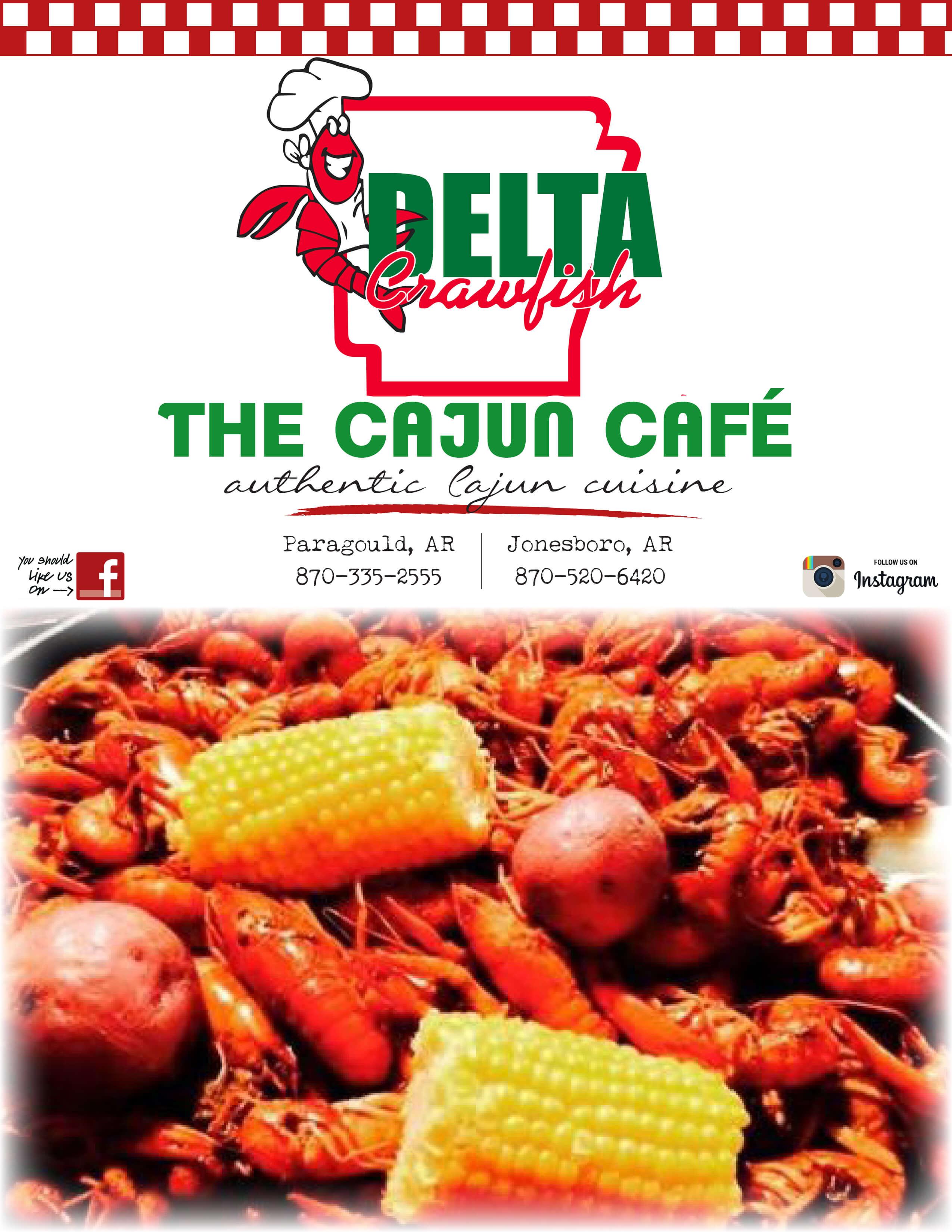 Delta Crawfish Delta Crawfish Cajun Cafe
